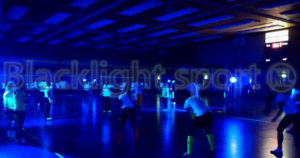 sporten in blacklight