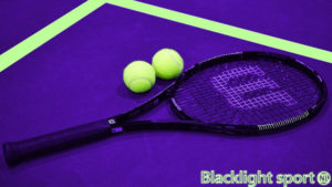 Blacklight tennis glow in the dark Blacklightsport.nl