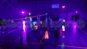 glow in the dark volleybal