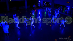 Blacklight schermen glow in the dark Sporten