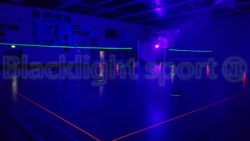 Blacklight volleybal 2 velden