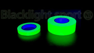 Glow in the dark UV tape breed smal rollen