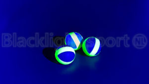 Hockey blacklight bal tape