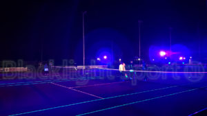 Blacklight tennis buiten 5 banen outdoor