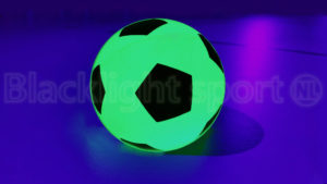 Glow in the dark zaalvoetbal UV neon